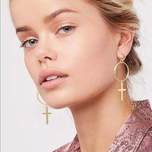 New Item✨ Drop Cross Earrings 😍✨